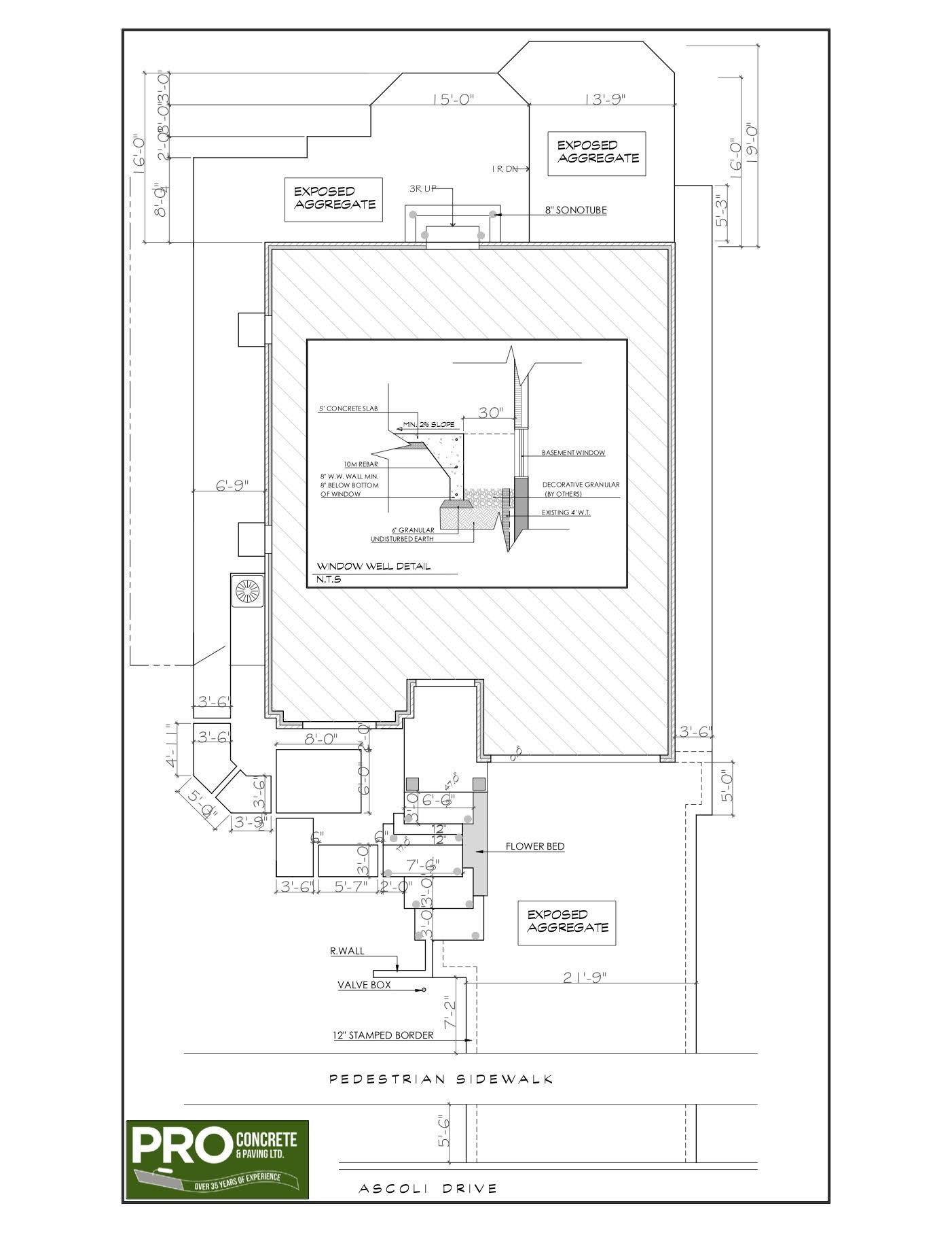 Complete house concrete design